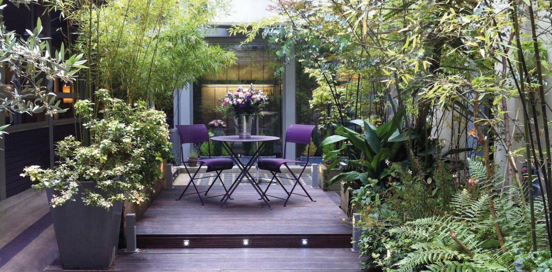 Villa Violet Paris : événements sur mesure - vue sur cour, le jardin