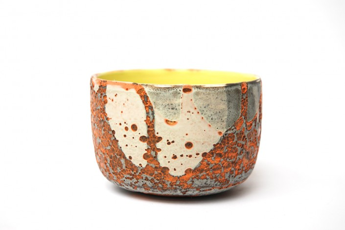 Chloé Peytermann |art céramique (bol) exposé à Villa Violet Paris /// Bienvvenues events