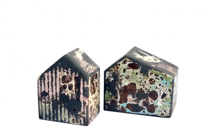 Chloé Peytermann |art céramique (maisons) exposé à Villa Violet Paris /// Bienvvenues events