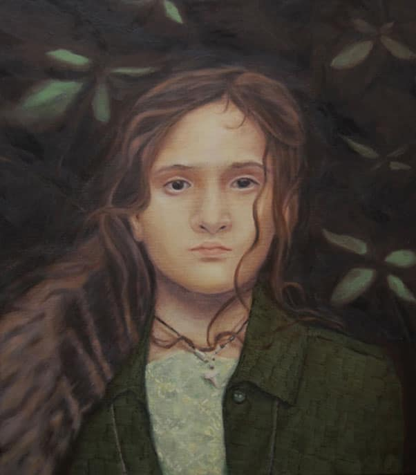 "Anja Fell, ""Sister"", 2013, Oil on canvas"