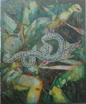 Peinture Dragon de Thibault Franc