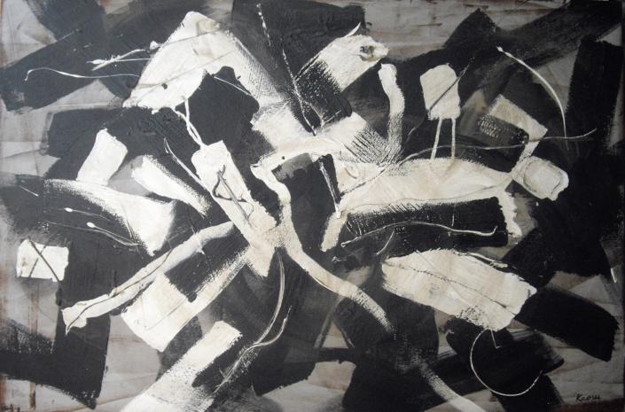 Big Bang de Kaoru Tsuzawa - quand la matière noire devient peinture cosmique